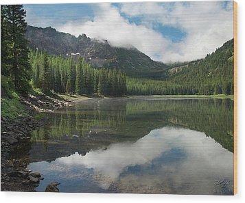 Strawberry Lake Wood Print