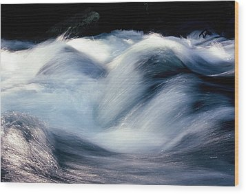 Wood Print featuring the photograph Stream 1 by Dubi Roman
