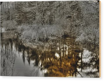 Wood Print featuring the photograph Stream IIi by Greg DeBeck