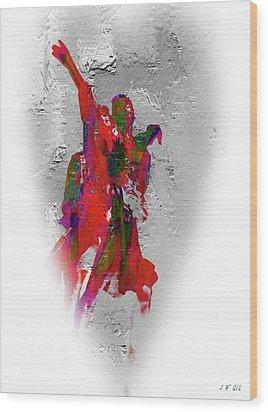 Street Dance 8 Wood Print