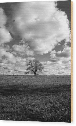 Strength II Wood Print by Mark Wiley