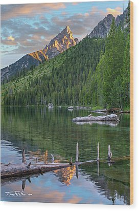 String Lake Wood Print