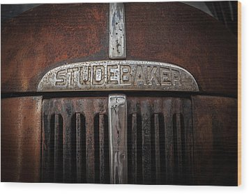 Studebaker Wood Print by Ray Congrove