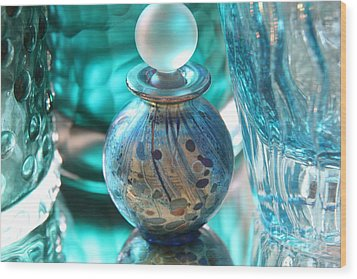 Studies In Glass...murano Wood Print
