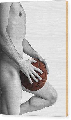 Studio Nude - Yanni No. 1 - The Alpha Male Wood Print by Paul W Sharpe Aka Wizard of Wonders