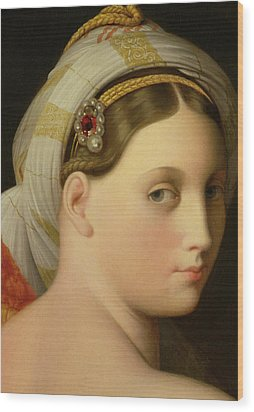 Study For An Odalisque Wood Print by Ingres