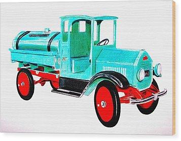 Sturdi Sprinkler Truck Wood Print