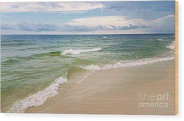 Sublime Seashore  Wood Print
