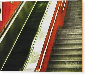 Subway  Wood Print by Emilio Lovisa