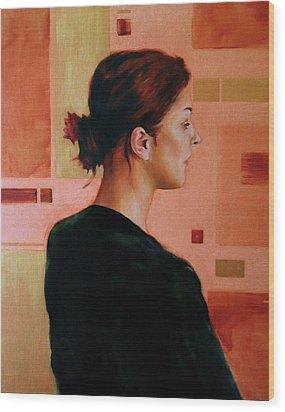 Sue Wood Print by Stuart Gilbert