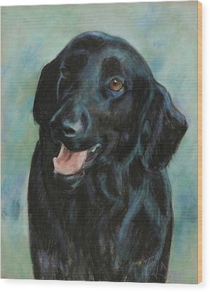 Wood Print featuring the pastel Sugar by Billie Colson