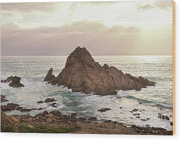 Wood Print featuring the photograph Sugarloaf Rock Sunset by Ivy Ho