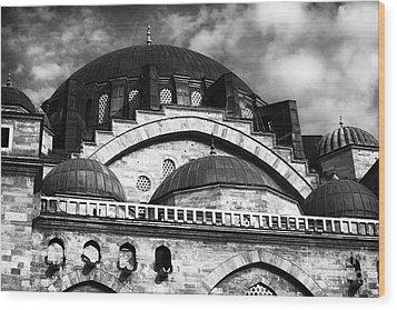 Suleymaniye  Wood Print by John Rizzuto