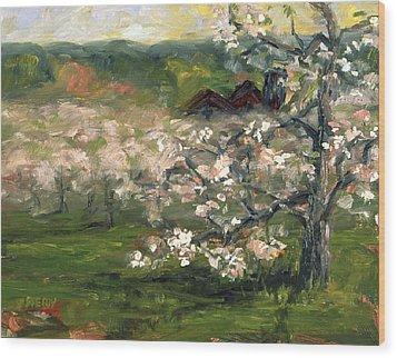 Sullivan's Orchard Wood Print