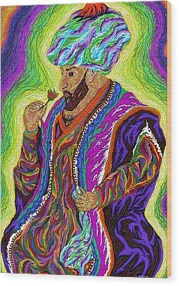 Sultan 2000 Wood Print by Robert SORENSEN