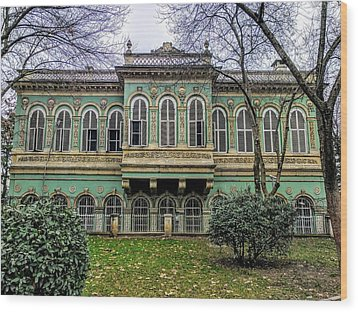 Sultan's Retreat Wood Print