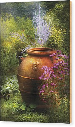 Summer - Landscape - The Urn Wood Print by Mike Savad