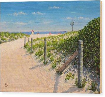 Summer 12-28-13 Wood Print