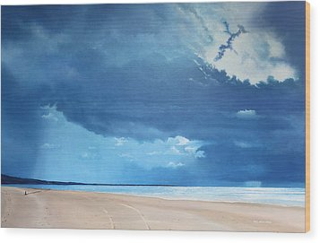 Summer Blues Wood Print by Paul Newcastle