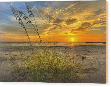 Summer Breezes Wood Print by Marvin Spates