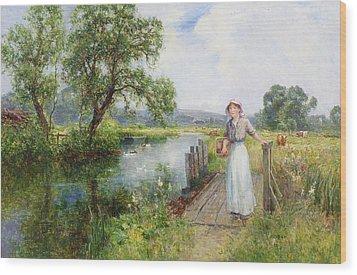 Summer Wood Print by Ernest Walbourn