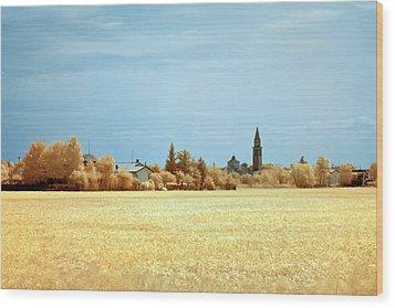 Summer Field Wood Print