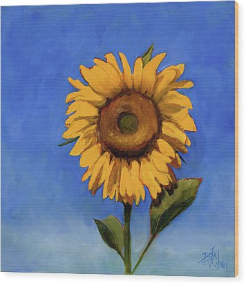 Wood Print featuring the painting Summer Fun by Billie Colson