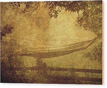 Summer Morning. Wood Print by Kelly Nelson