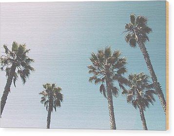 Summer Sky- By Linda Woods Wood Print by Linda Woods
