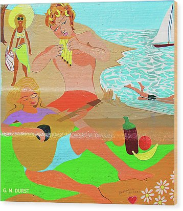 Summer Song Wood Print by Michael Durst