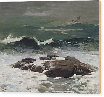 Summer Squall Wood Print by Winslow Homer