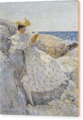 Summer Sunlight Wood Print by Childe Hassam