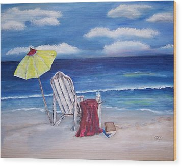 Summers Dream Wood Print by Penny Everhart