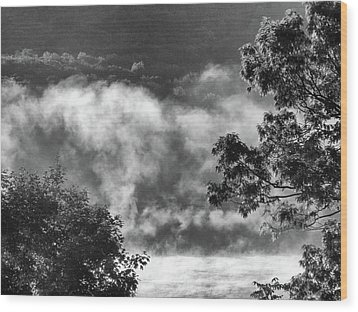 Wood Print featuring the photograph Summer's Leaving by Steven Huszar