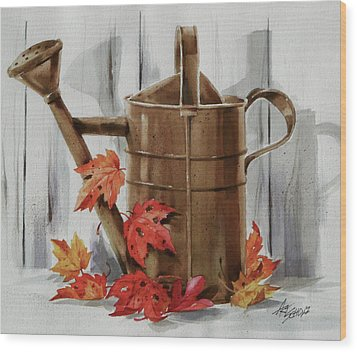 Summer's Over Wood Print by Art Scholz