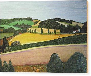 Summertime Wood Print by Bill OConnor