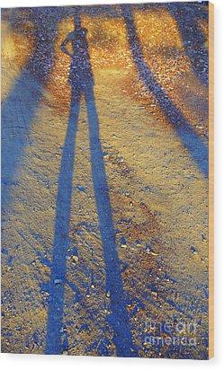 Summertime Legs Wood Print by JoAnn SkyWatcher