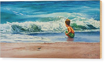 Summertime Pals Wood Print by Bob Nolin