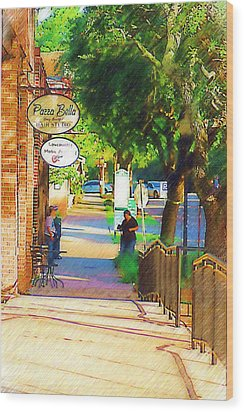 Summerville Sc Wood Print by Donna Bentley
