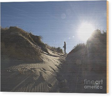 Wood Print featuring the photograph Sun And Sand  by Tara Lynn