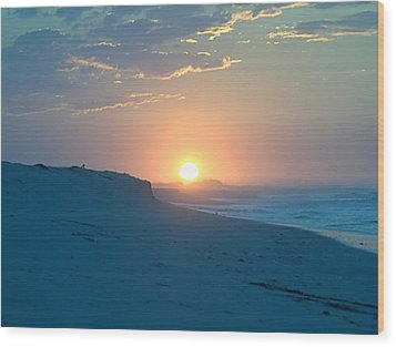Wood Print featuring the photograph Sun Dune by  Newwwman