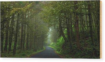 Sun-kissed Wood Print by Rick Furmanek