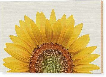 Sun Rise Wood Print by Richard Moiger