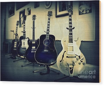 Sun Studio Classics Wood Print by Perry Webster
