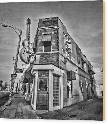 Sun Studio - Memphis #2 Wood Print
