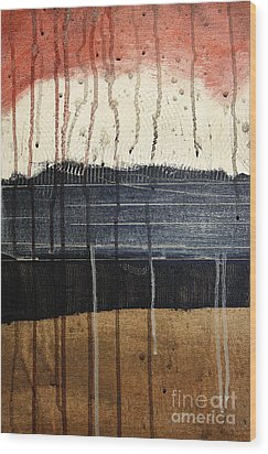 Sunburst Wood Print by Brian Drake - Printscapes