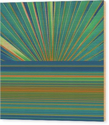 Wood Print featuring the photograph Sunburst by Michelle Calkins