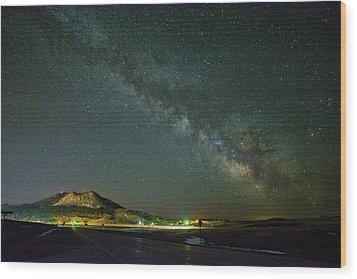 Sundance Milky Way Wood Print