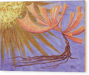 Sundancer Wood Print by Charles Cater
