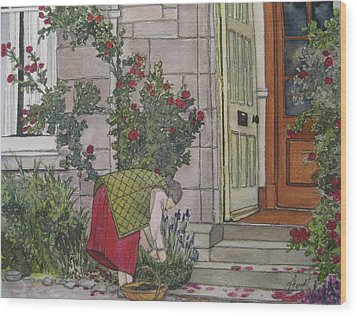 Sunday Afternoon St Andrews Wood Print by Victoria Heryet